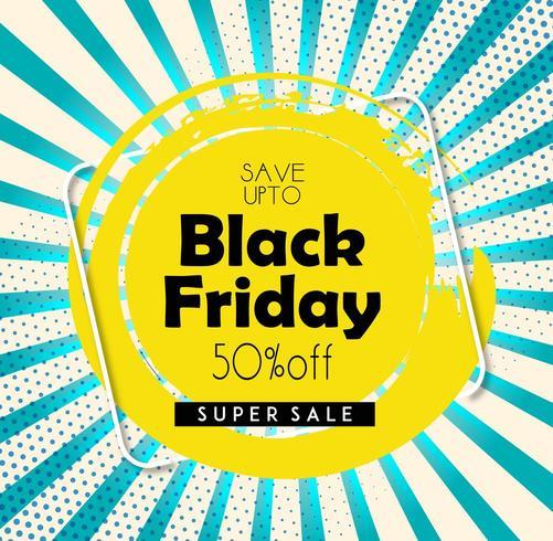 Black Friday vacker flygblad vektor