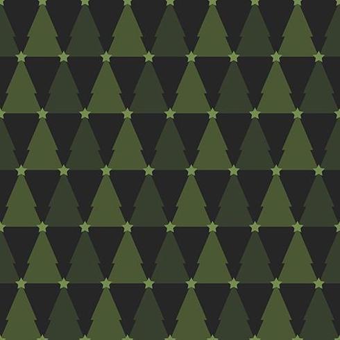 Nahtloses Muster des grünen Weihnachtsbaums vektor