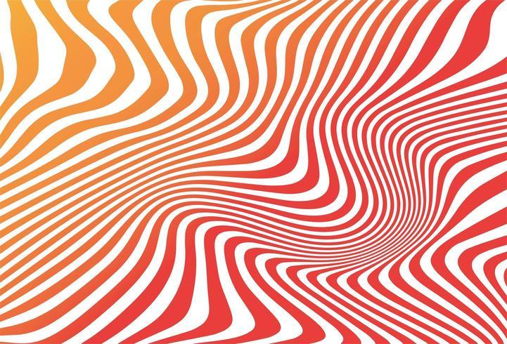 Abstrakter bunter nahtloser Zickzackmusterhintergrund vektor