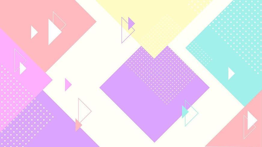 abstrakt färgglad geometrisk bakgrund vektor