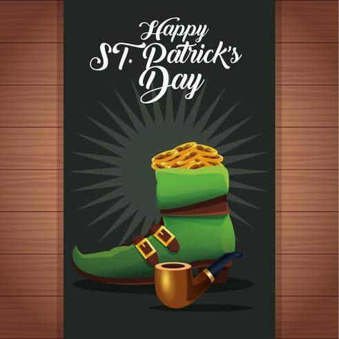 Fröhlichen St. Patrick's Day vektor