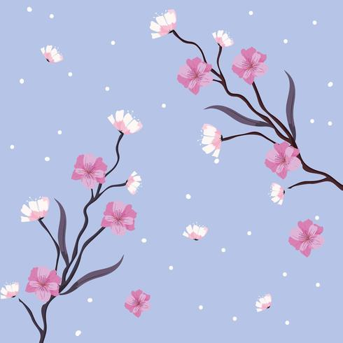 Blommönster vektor