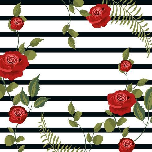 Vintage floral Hintergrund vektor