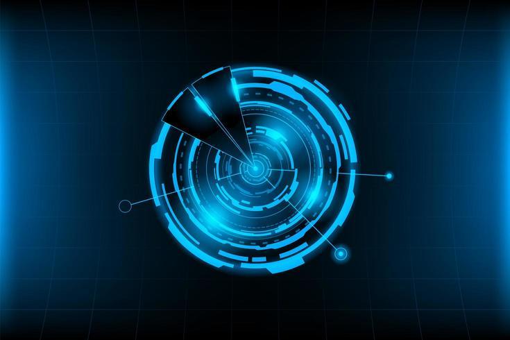 Futuristischer abstrakter Hintergrund vektor