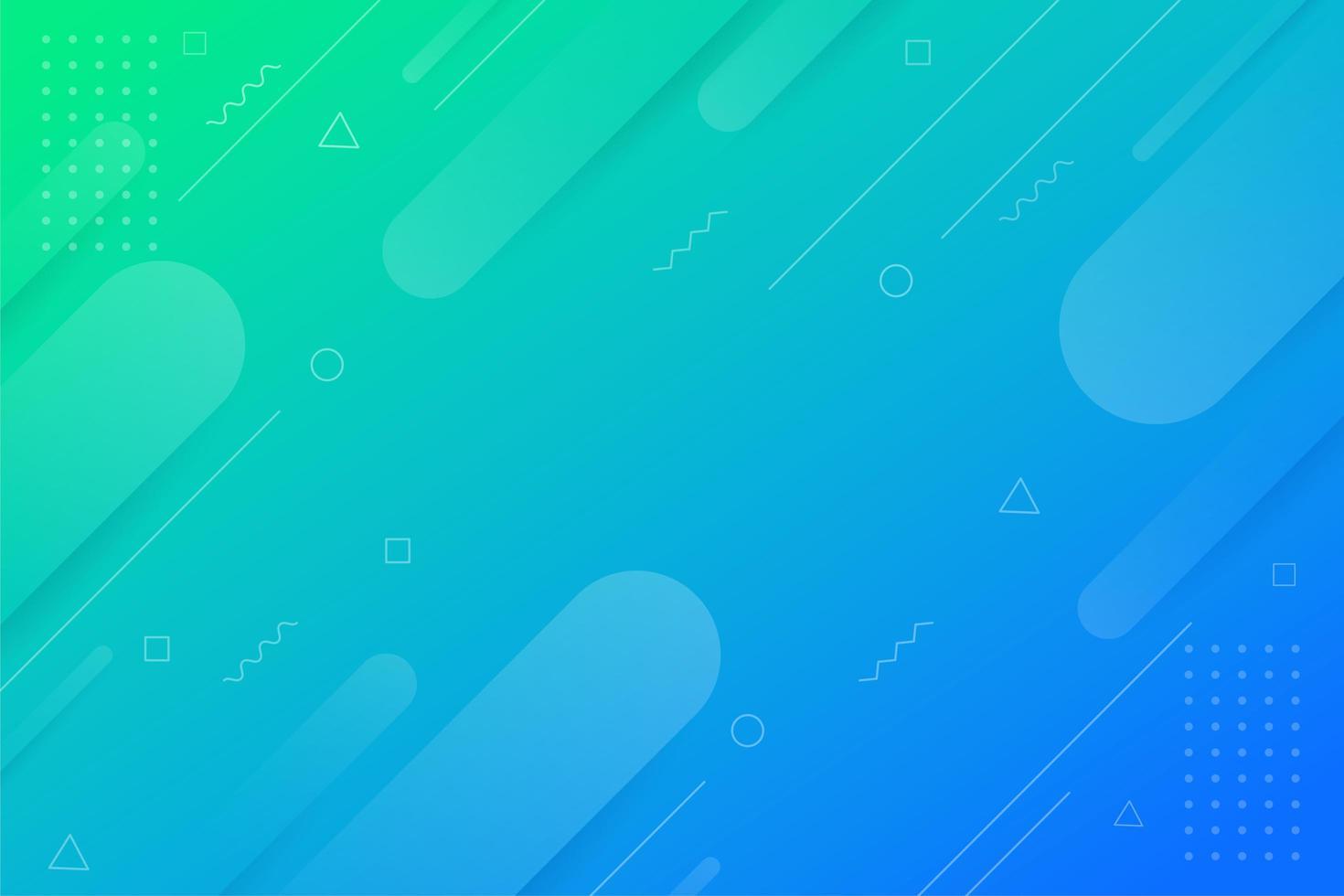geometrischen Hintergrund mit Farbverlauf vektor