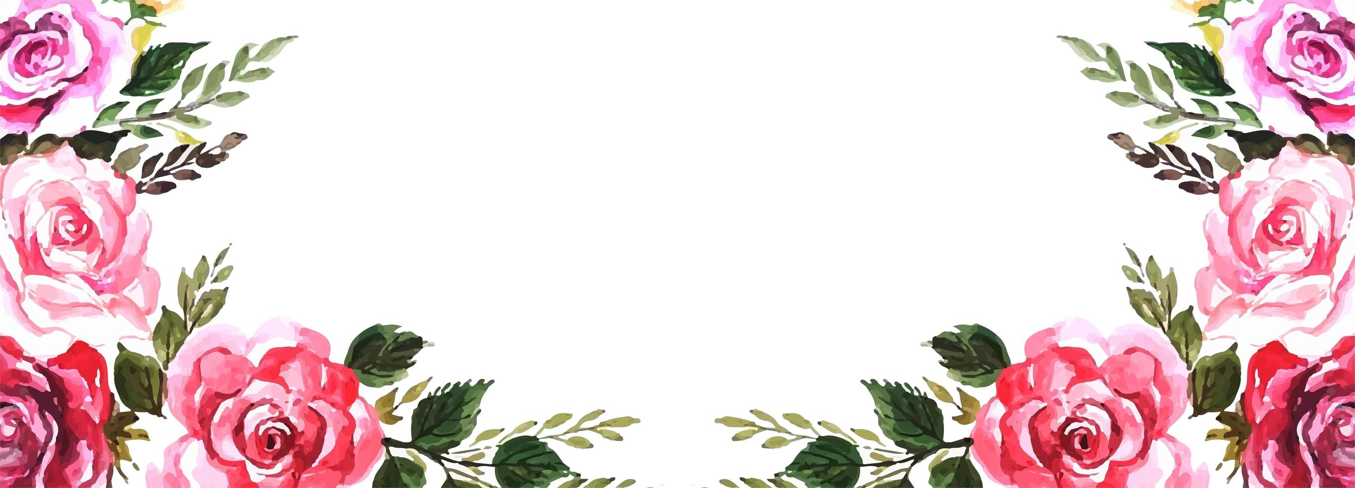 Elegant blommabakgrund vektor
