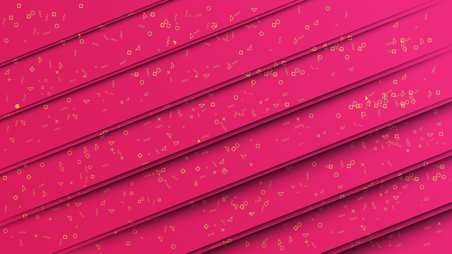 Abstrakt bakgrund för rosa papperssnitt vektor
