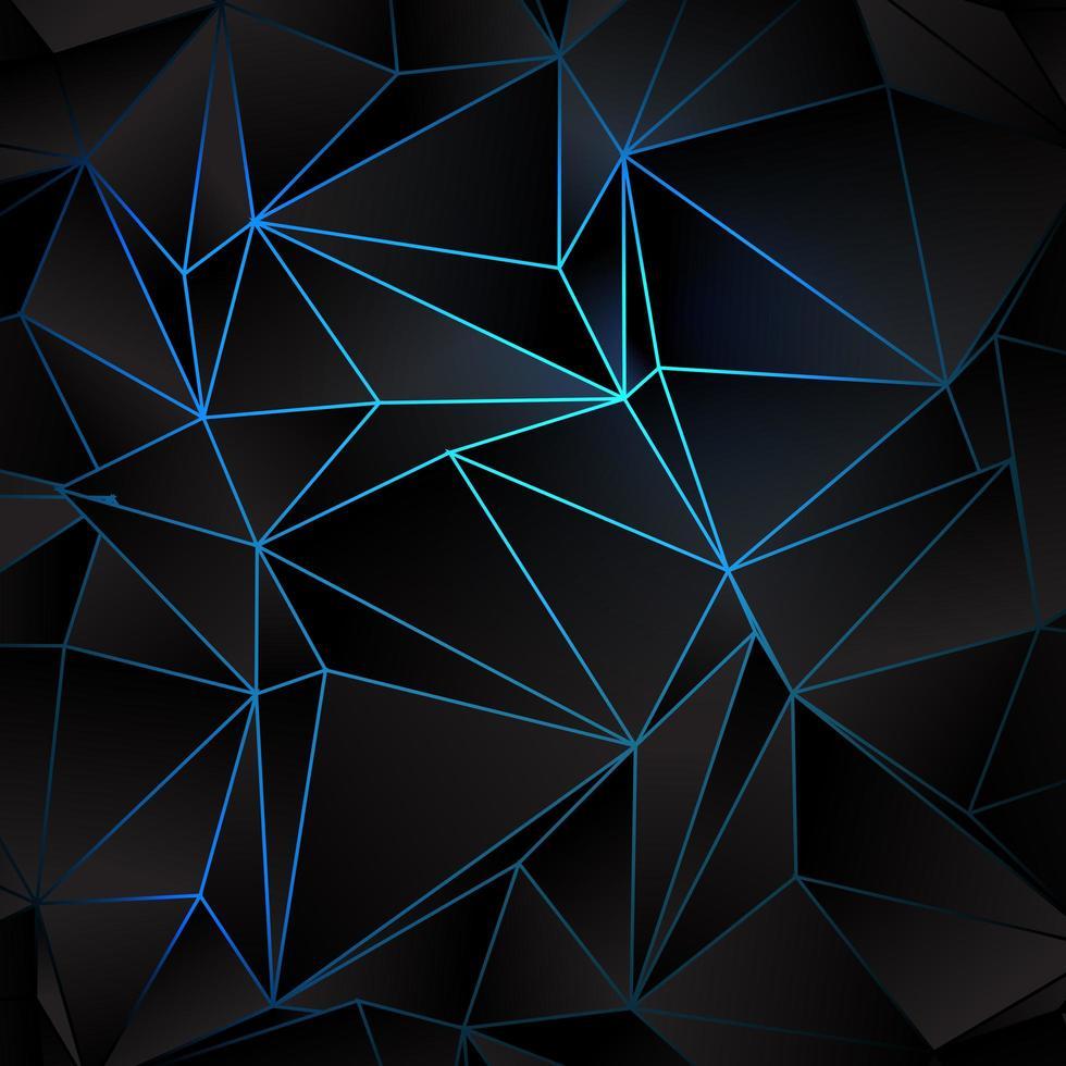 Abstrakt låg poly design vektor