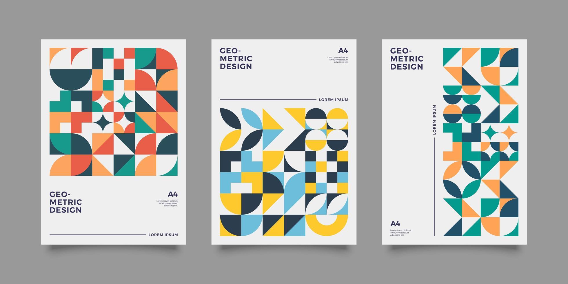 Entwurfsvorlage für Magazin-Cover vektor