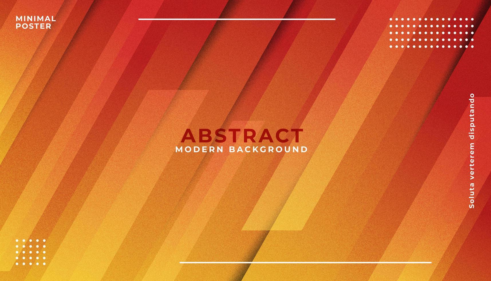 orange abstrakt geometrisk bakgrund vektor
