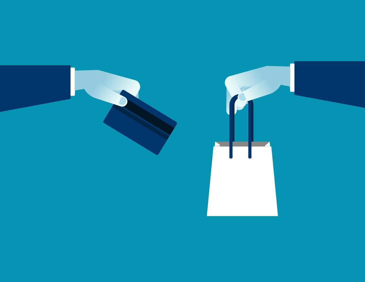 online shopping e-handel vektor