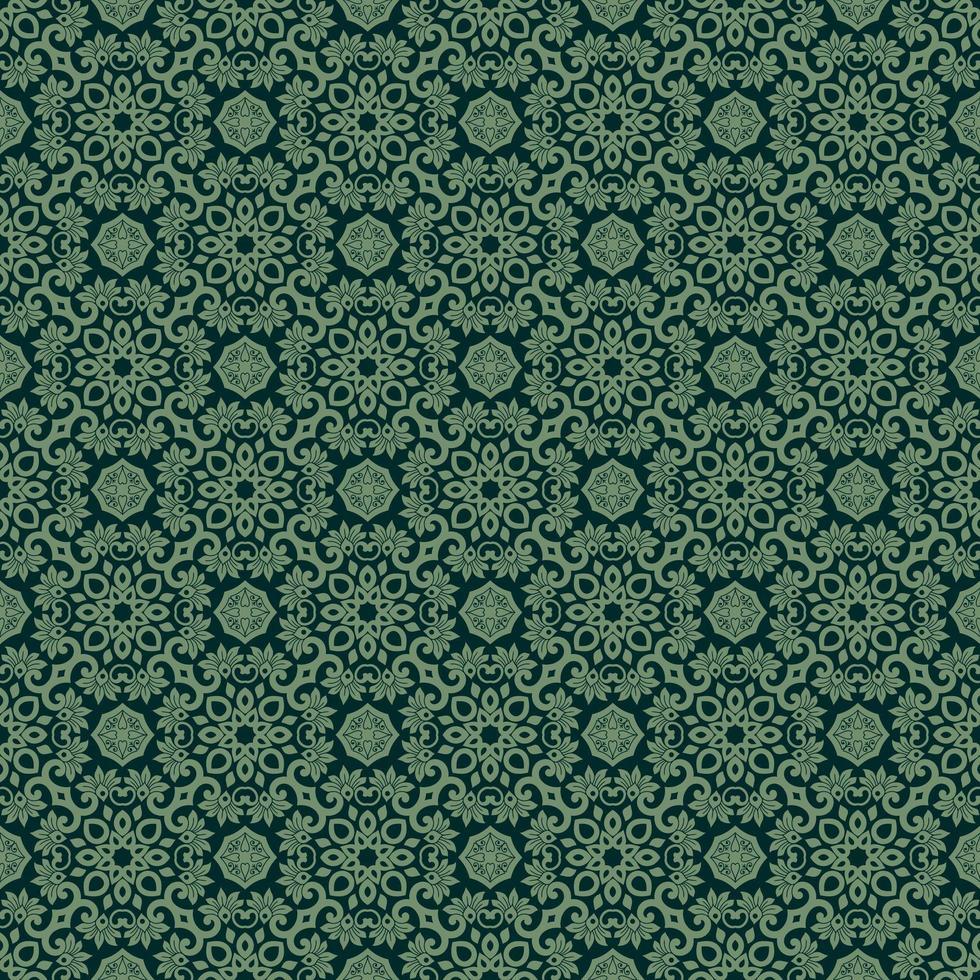 grön med ljusare gröna detaljer vektor