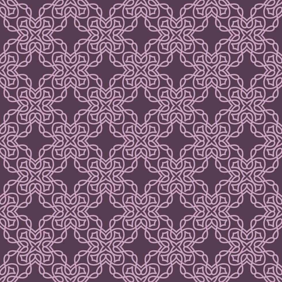 lila och lila lila geometriska mönster vektor