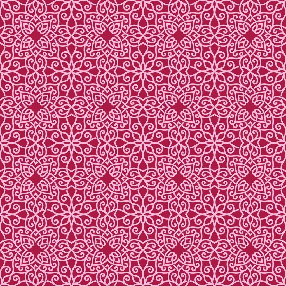 rosa och magenta geometriska mönster vektor