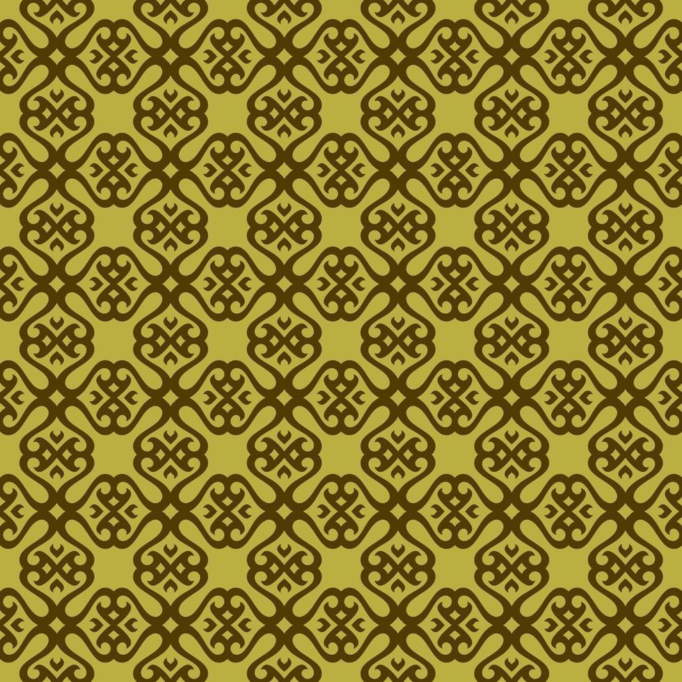 ärtgrönt och mörkgrönt geometriskt mönster vektor