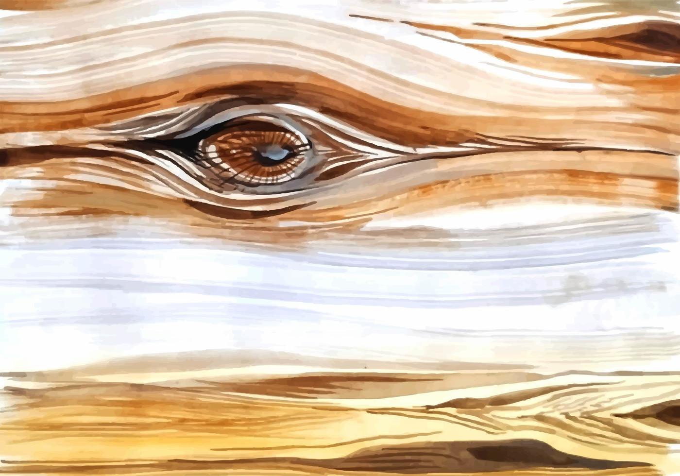 abstrakt akvarell trä textur vektor