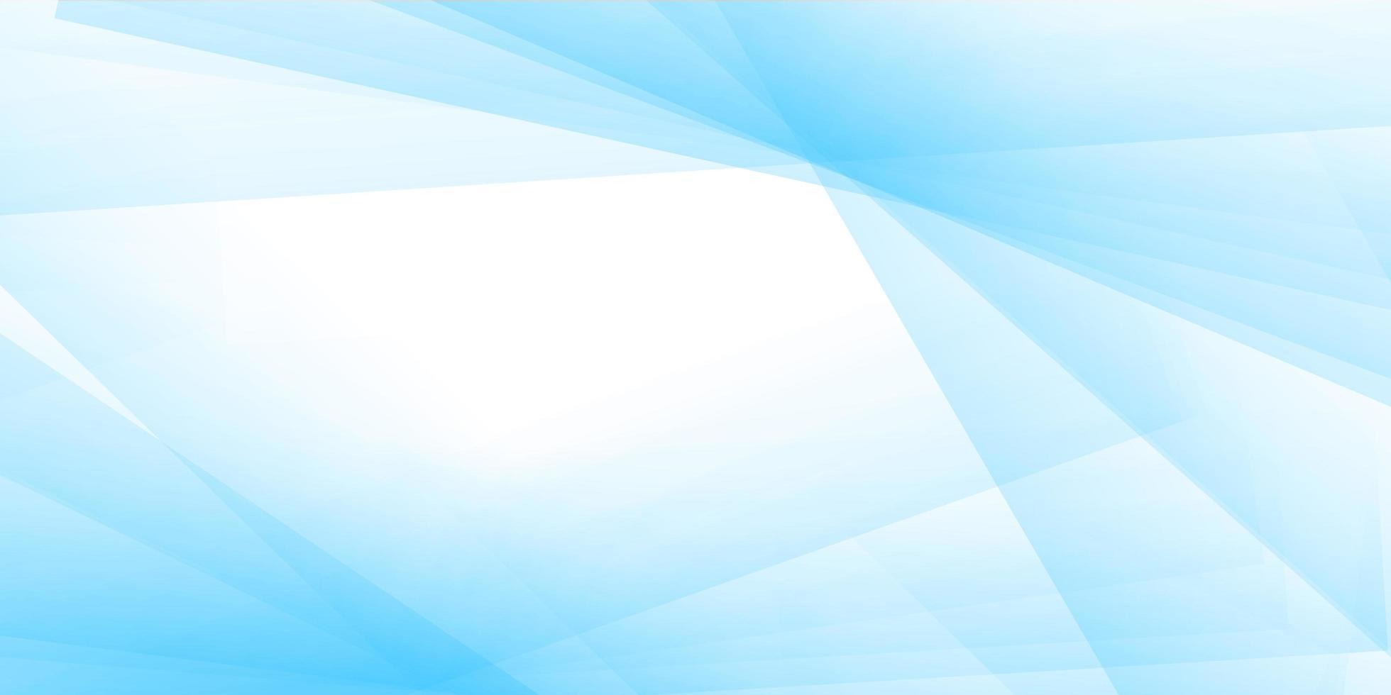 pastellblå banner design vektor