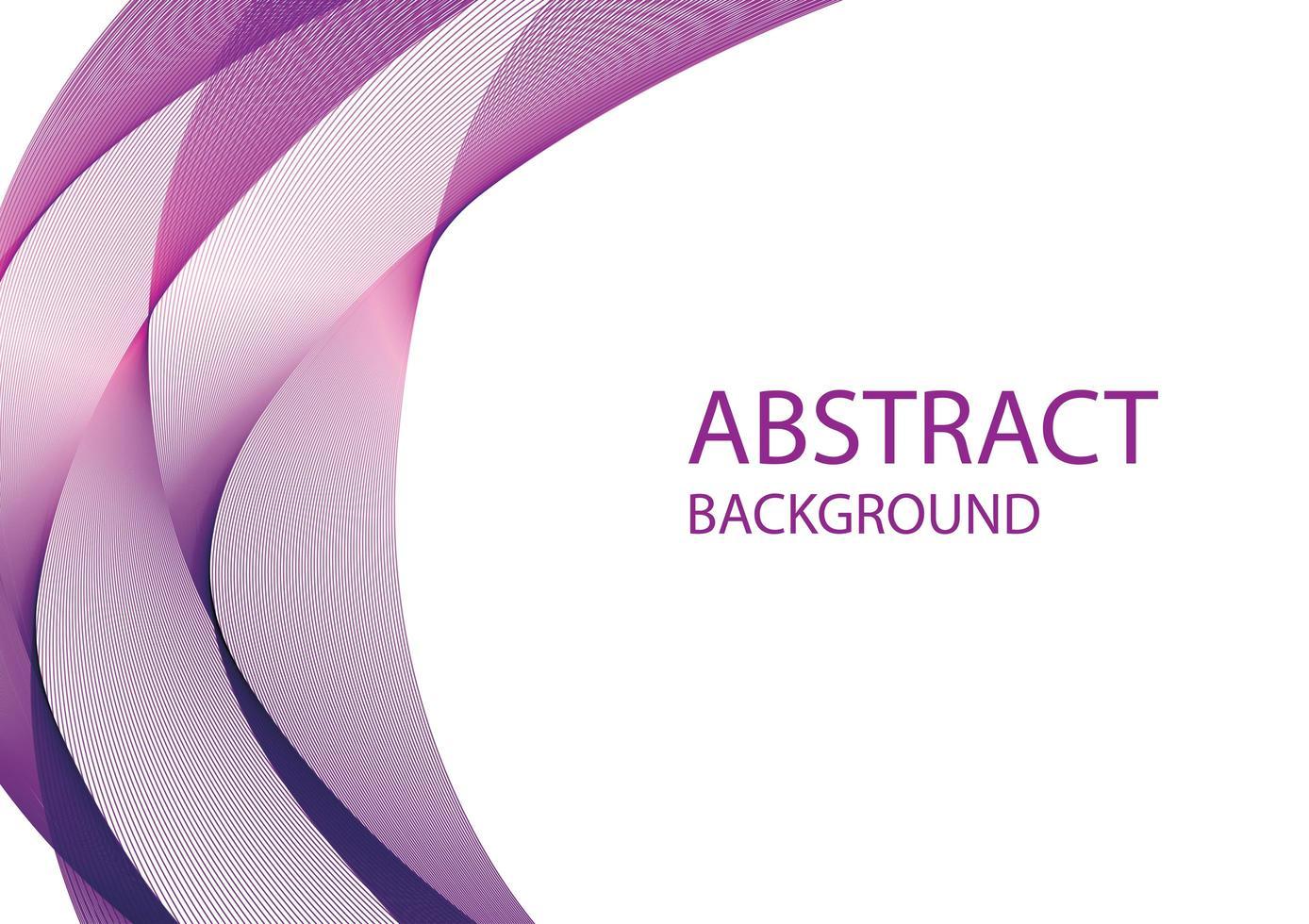reklam banner med lila abstrakta former vektor