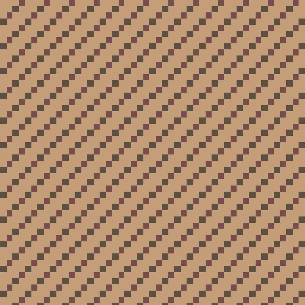 brunt och grönt repeterande diamantmönster vektor
