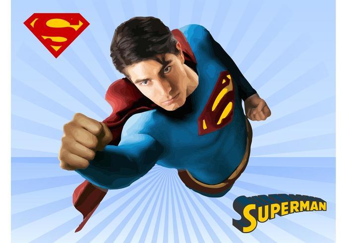 superman vektor