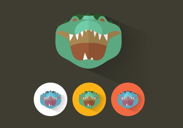 Alligatorvektor vektor