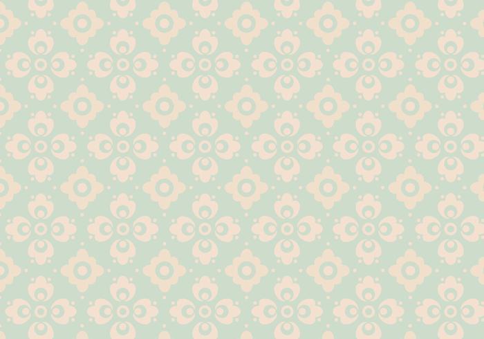 Robin Egg Blue Vintage Vector Pattern