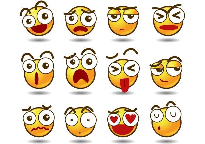 Emoji-Vektoren vektor