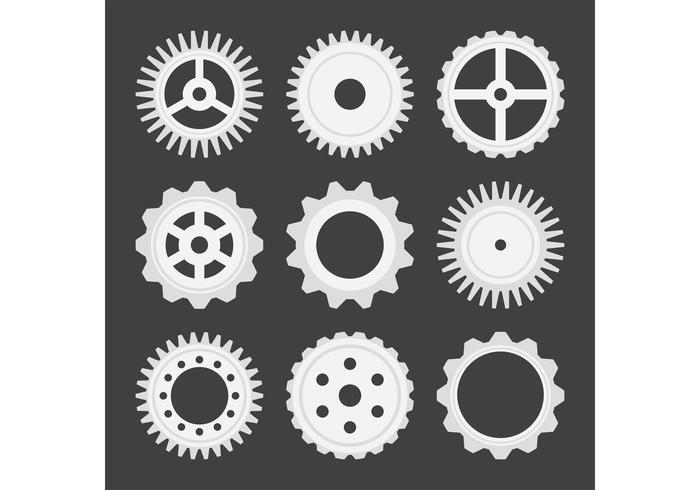 Gear-Vektoren vektor