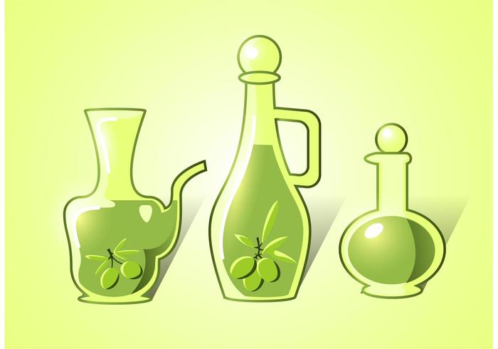 Olivolja vektorer