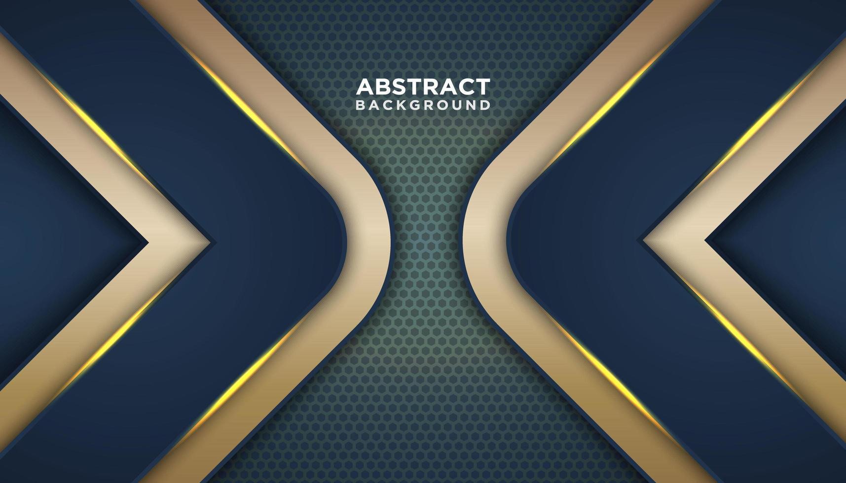 abstrakt prickbakgrund med guldvinkel vektor