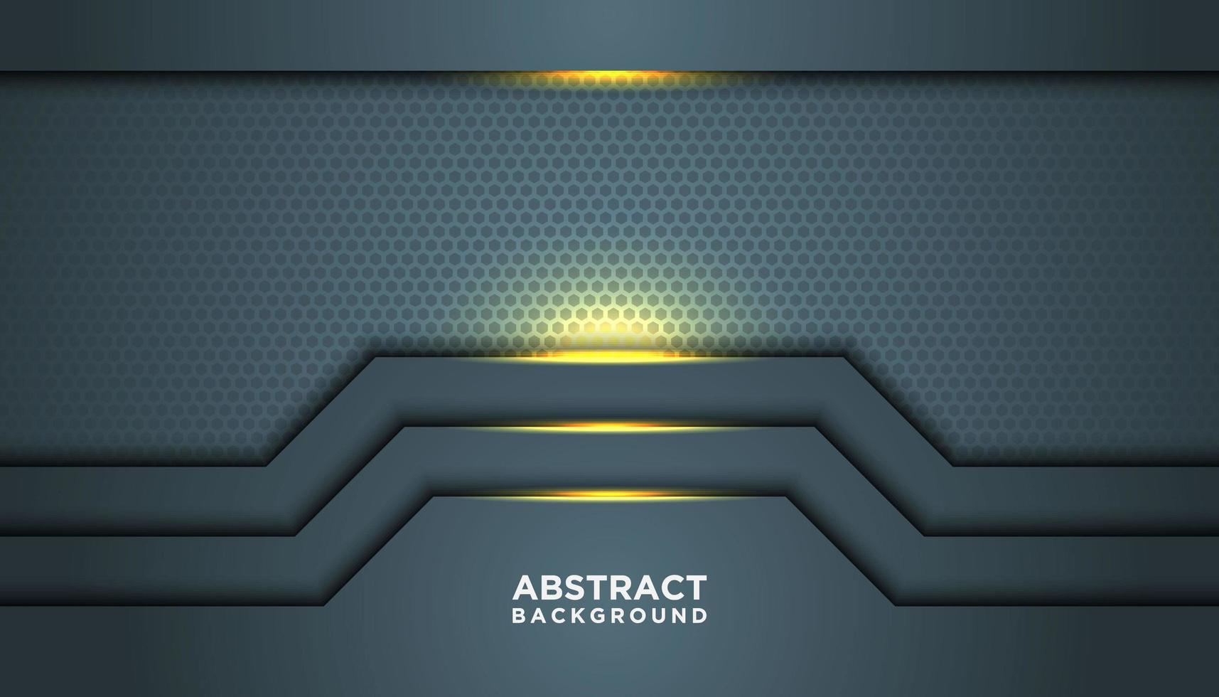 gepunkteter Hintergrund mit leuchtenden Schichten vektor