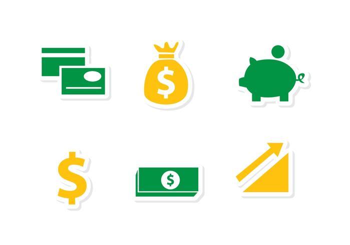 Finanzen Icons Vektoren Pack 1