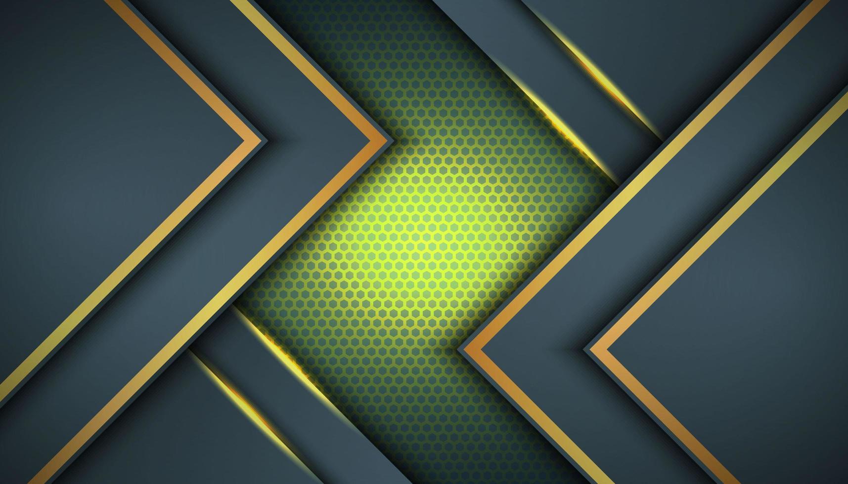 dunkelgrauer Hintergrund mit asymmetrischen Schichten vektor