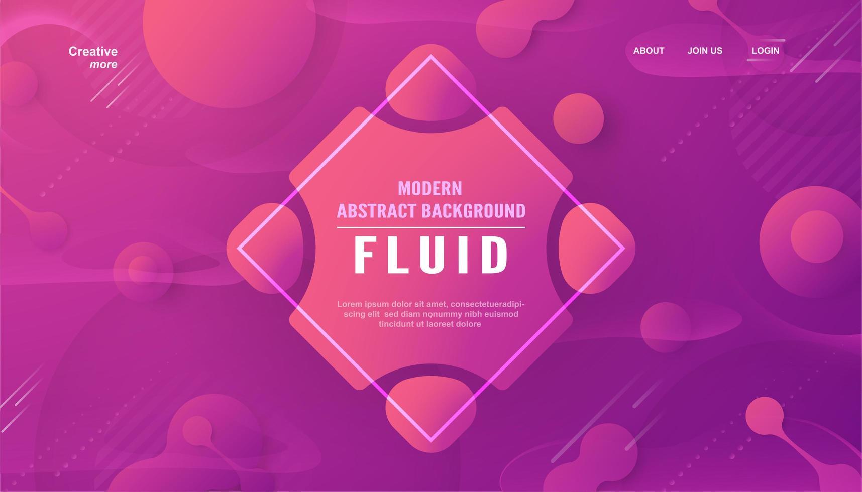 moderner abstrakter Hintergrund des rosa und lila Farbverlaufs vektor