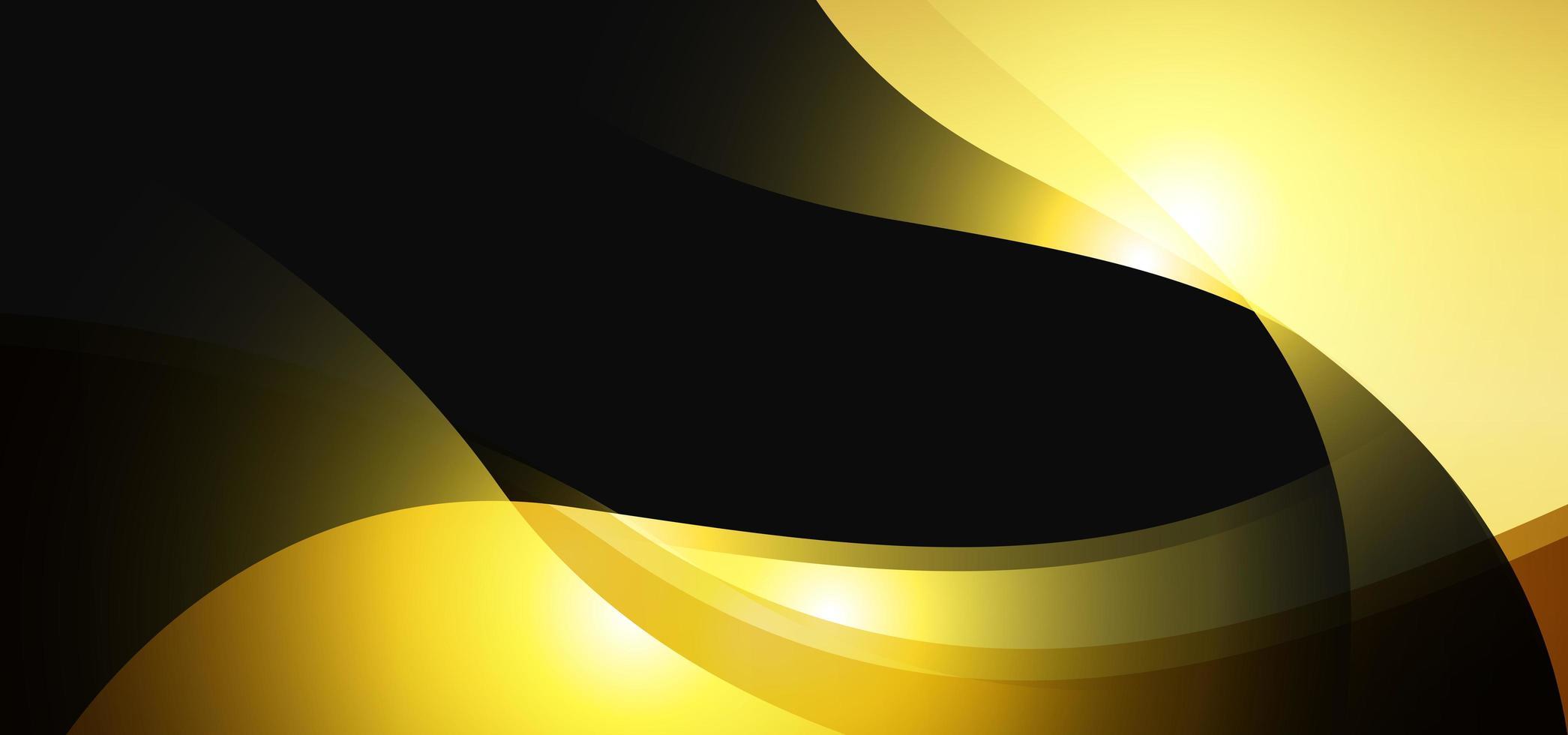 Luxus goldenes königliches Banner vektor