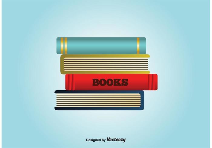Stapel Bücher Vektor