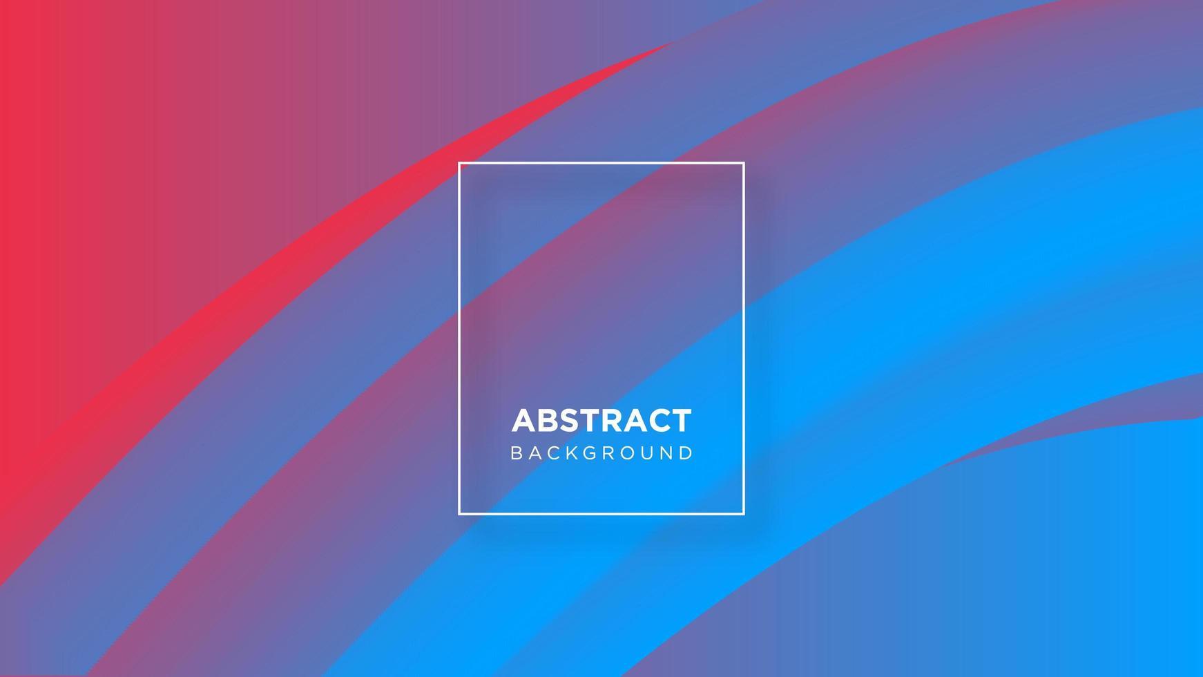 abstrakter bunter fließender Hintergrundentwurf vektor