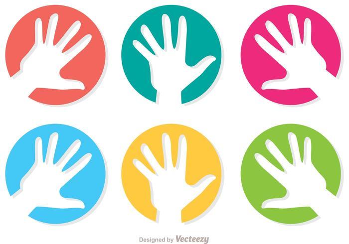 Helfende Hand Icon Vector Pack