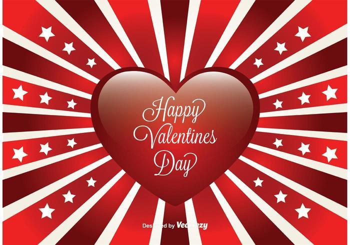Valentinsgruß-Tageskarte vektor
