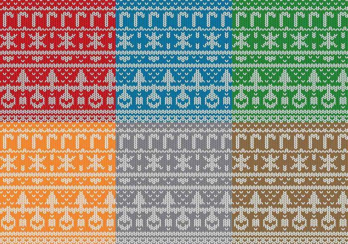Jultröja mönster vektor