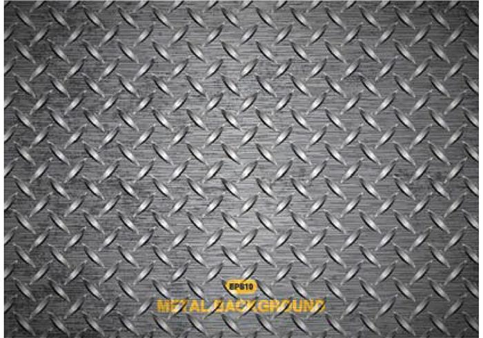 Gratis Vector Metal Diamond Plate Texture