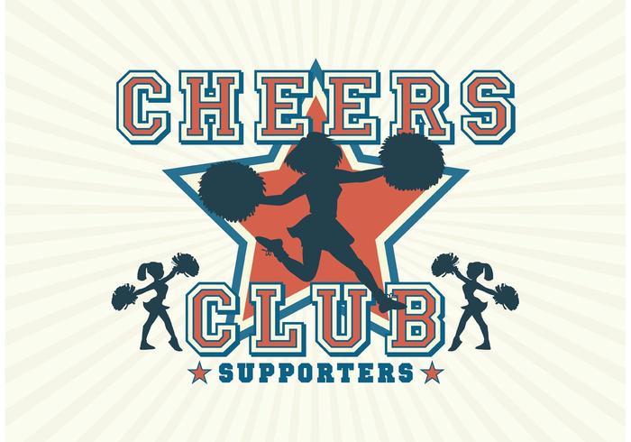 Free Vector Cheerleader Silhouetten