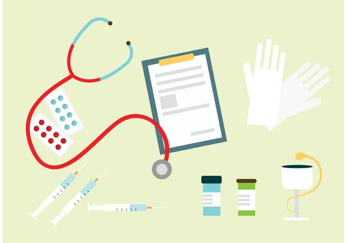Medizin Objekte vektor