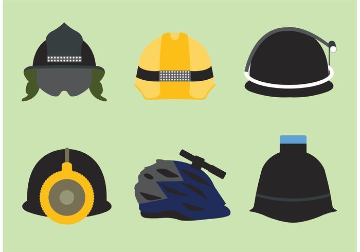 Helm mit Licht Vektor Pack