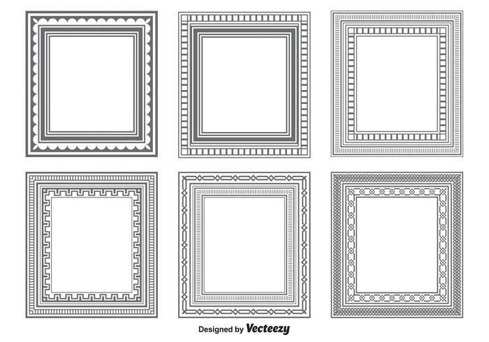 Vector Rahmenformen