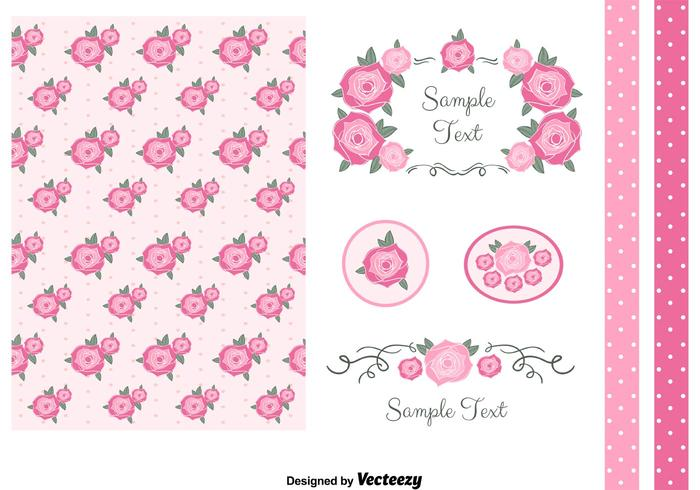 Gratis Vector Set Designelement