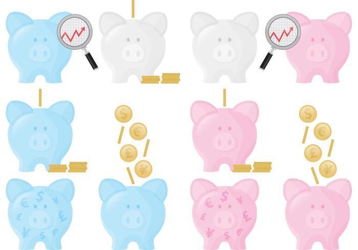 Piggy Bank Vektoren