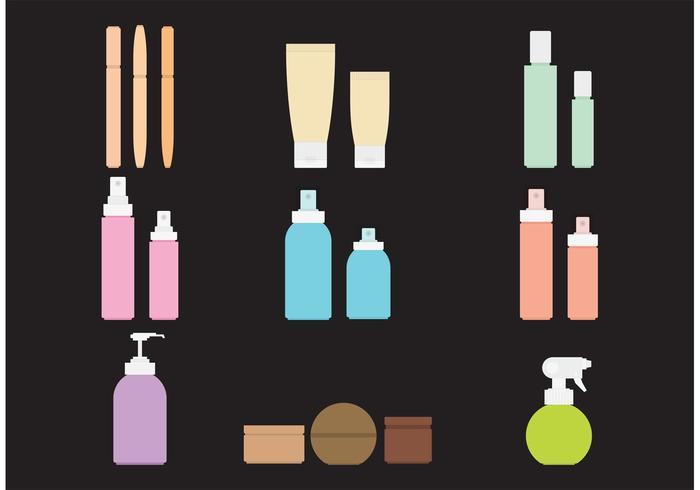 Kosmetikpakete vektor