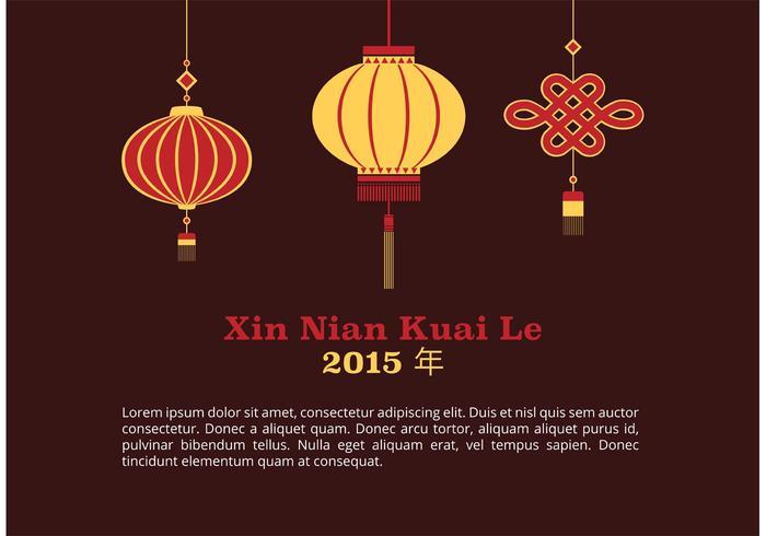 Gratis Lunar New Year Vector