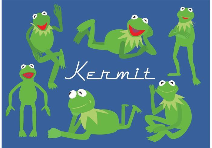 Kermit der Frosch vektor